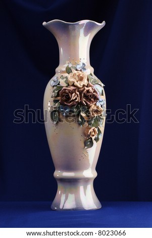 Blue Sky Porcelain - Face Vases, Figurines, Wall Vases by Sara and