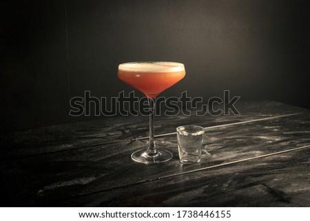 Pornstar Martini in a Professional Backdrop Foto stock ©