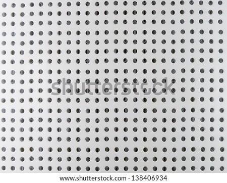 Porous metal dot background