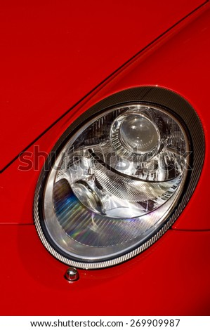 porsche car headlight #269909987