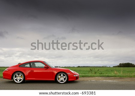 Porsche 997 Carrera - stock photo