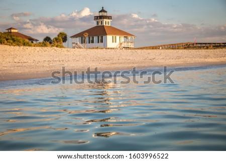 Port Boca Grande Lighthouse. Boca Grande, Florida, USA. Foto stock ©