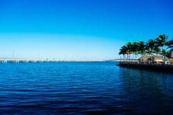 Port Charlotte harbor and Punta Gorda in peace river