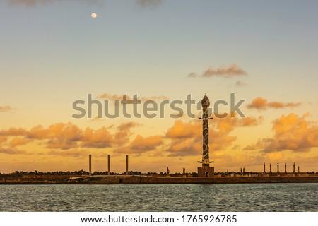Port complex in the city of Recife, Pernambuco, Brazil Foto stock ©
