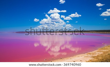 Port Gregory Pink Lake