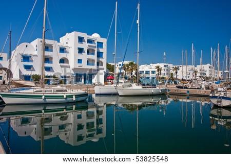Port in Monastir, Tunisia