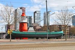 Port-museum in Rotterdam , Netherlands.