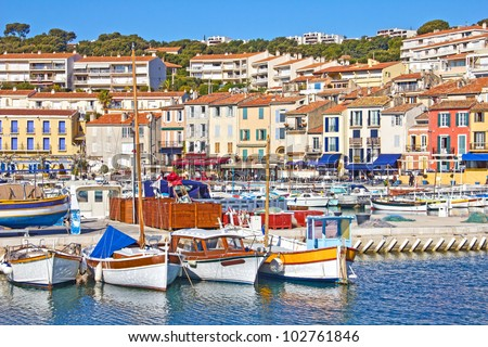 port of cassis  south of france