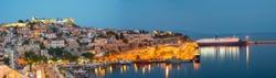 Port of Kavala Greece