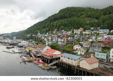 Port of Ketchikan - Tongass National Forest, Alaska