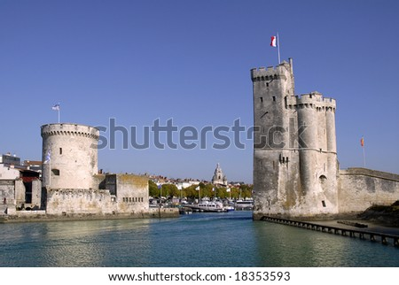 Port of La Rochelle in France
