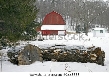Port Oneida Barn -- Sleeping Bear Dunes National Lake Shore, Michigan, USA.