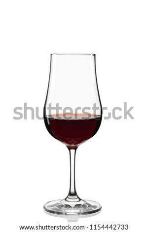 port wine in specific glass