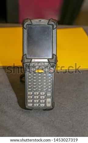 Portable Handheld Barcode Scanner Reader Device Equipment #1453027319