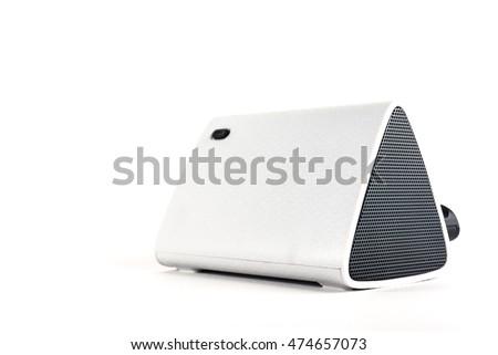 Portable portable speaker system runs on batteries #474657073