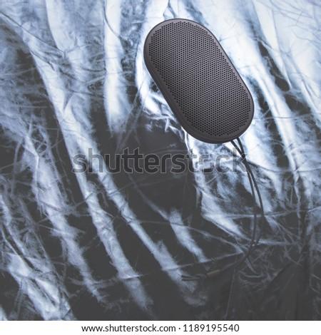 Portable speaker floating #1189195540