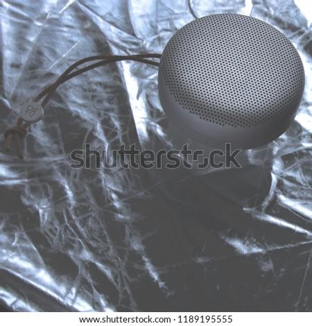 Portable speaker floating #1189195555