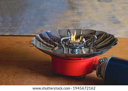 Portable stove for outdoor activities or camping stove ,small stoves that are easy to carry.