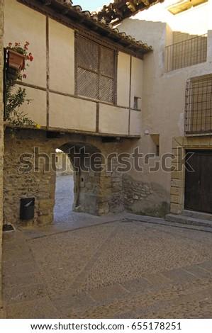 Shutterstock Portal del Estudio in Miranbel, Maestrazgo, Castellon province, Valencian Community, Spain