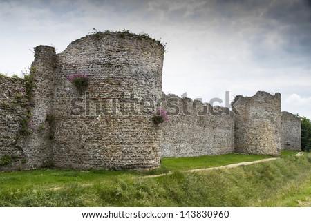 Portchester Castle, Portsmouth, England