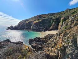 Portelet Beach, Guernsey Channel Islands