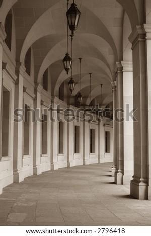 Portico - stock photo