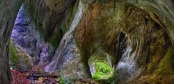 Portile Bihorului cave in Apuseni natural park, Romania
