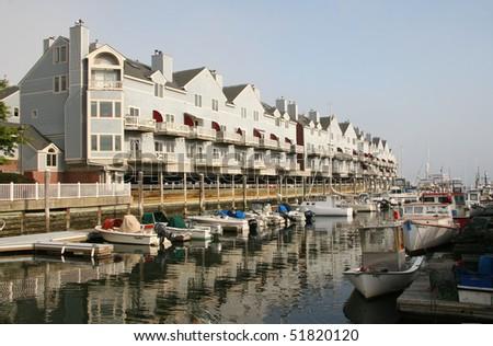 Portland docks, Maine
