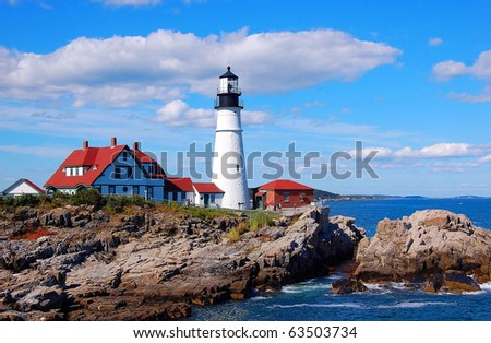 Portland Head Light. Portland Maine