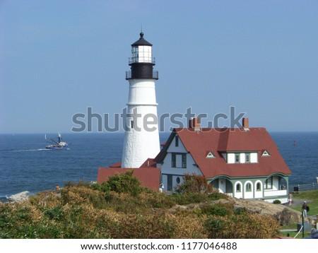 Portland Maine Headlight #1177046488