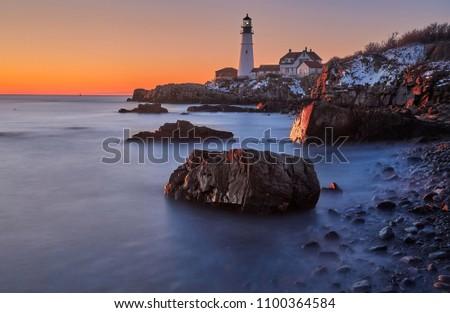 Portland Maine Lighthouse  #1100364584
