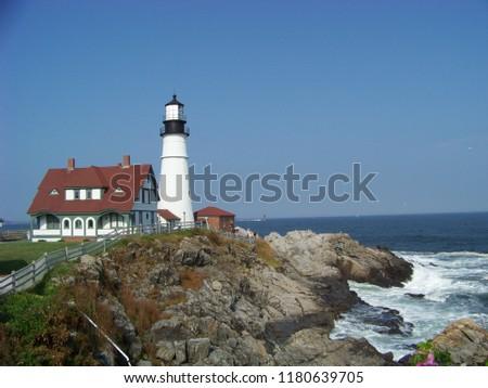 Portland Maine Lighthouse #1180639705