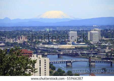 Portland & Mt. St. Helen's.