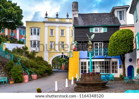 Portmeirion in North Wales, UK. #1164348520