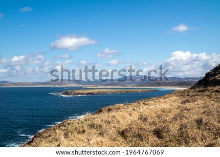 Portnoo, Narin and Inishkee seen from Dunmore head - County Donegal, Ireland Stok fotoğraf ©