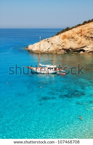 Porto Katsiki beach, Lefkada, Greece