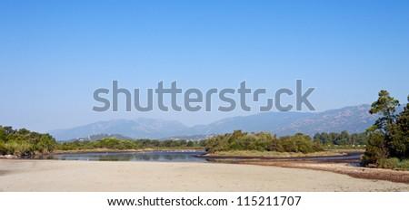 Porto vecchio lake