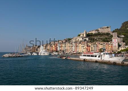 Porto Venere, town located on the Ligurian coast of Italy in the province of La Spezia, Cinque Terre.