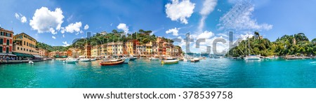 Portofino, Panorama  #378539758