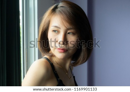 Portrait asian sexy women #1169901133