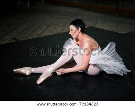 Portrait ballerina