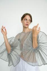 portrait beauty woman fashion magazine editorial studio retouch