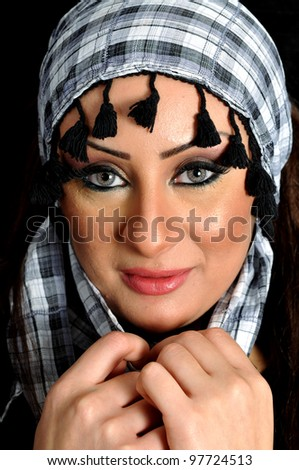 Portrait for a middle eastern female