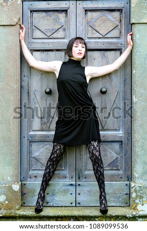 You Sexy legs short skirts high heels