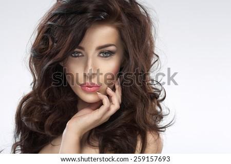 Portrait of a adorable woman #259157693