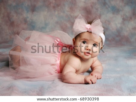 Pink Hair Bow. And Pink Hair Bow Headband