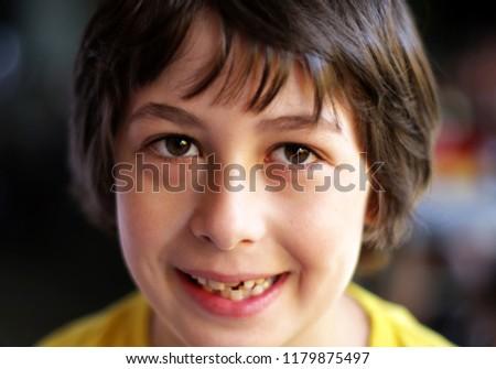 Portrait of a beautiful boy. #1179875497