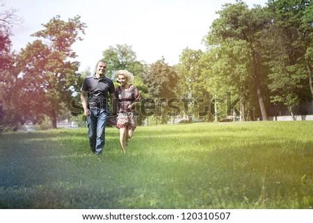 Portrait of a beautiful couple