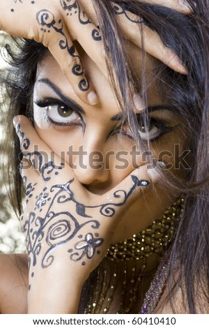 pictures of egyptian makeup. a tipical egyptian make up