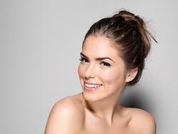 Portrait of A Beautiful Woman Studio Shoot